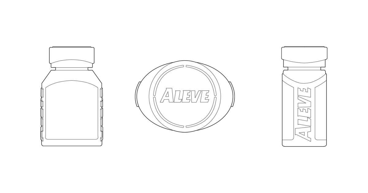Packaging Design Development Aleve